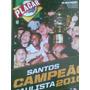 Poster Placar, Santos Campeão Paulista 2010