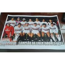 Poster Do São Paulo - Campeão Da Libertadores De 1993
