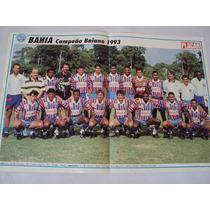 Poster Futebol Bahia Campeão Ba 1993