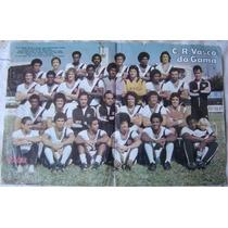 Pôsters Revista Placar - C. R. Vasco Da Gama - Anos 70
