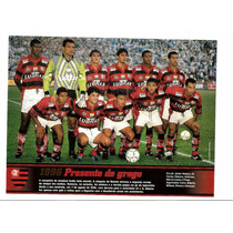 Poster Flamengo 1996 Com O Retorno De Bebeto Placar Especial