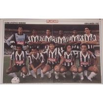 Pôster Placar - Corinthians Campeão / Atlético Mg - 1977