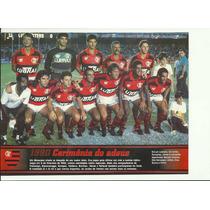 Poster Flamengo Despedida De Zico 1990 Placar Especial