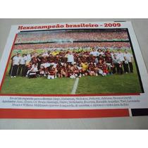 Poster Futebol Flamengo Campeão Brasileiro 2009