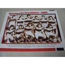 Poster Futebol Flamengo Campeão Brasileiro 1982