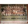 Poster Fluminense Campeão Carioca De 1971 - Pan Am