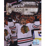 Poster (20 X 25 Cm) Patrick Kane With The 2009-10 Stanley