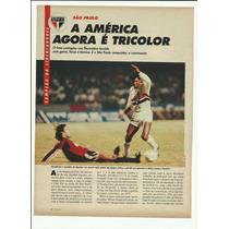 Reportagem Placar São Paulo Campeão Taça Libertadores 1992