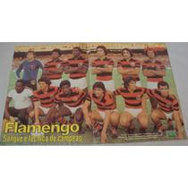 Poster Futebol Flamengo Equipe 1979