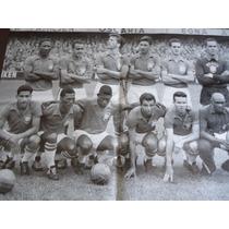 Poster Seleção Brasileira Campeã Copa Do Mundo 1958 54x41cm