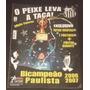 Revista Pôster Santos Bi Campeão Paulista 2006/2007