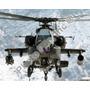 Ah-64 Apache Unido Unidos Exército Poster Impressão