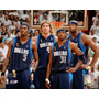 Poster (25 X 20 Cm) Mavericks Group-2006 Finals / Game 4