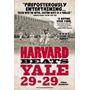 Harvard Batidas Yale 29-29 Poster Impressão