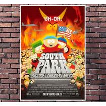 Poster Exclusivo South Park Desenho Animado Tamanho 30x42