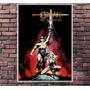 Poster Exclusivo Filme Conan Barbaro Schwarzenegger 30x42cm