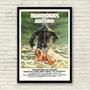Antigo Poster Filme De Terror Humanoides Del Abismo 1980