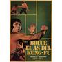 Bruce E Shao-lin Kung Fu Poster Impressão