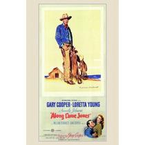 Ao Longo Veio Jones Poster Impressão