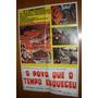 Pôster Cartaz Original Filme Ficção Cinema Antigo Anos 70