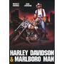 Poster (28 X 43 Cm) Harley Davidson And Marlboro Man
