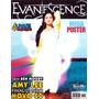 Revista Pôster Evanescence Raríssima = Amy Lee 52cm X 81cm!