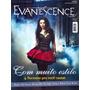 Revista Pôster Evanescence Novíssima = Amy Lee 52cm X 81cm!