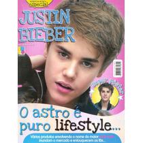 Revista Pôster Justin Bieber Rara = Gigante 52x 81cm Bad Boy