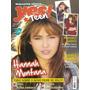 Revista Pôster Miley Cyrus Demi Lovato = Hannah Montana Nova