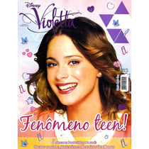 Revista Pôster Violetta Uau!! = Gigante 52cm X 81cm! Violeta
