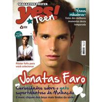 Revista Pôster Jonatas Faro = 52 X 42cm Malhação Chiquititas