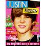 Revista Pôster Justin Bieber Novíssima! = Gigante 52 X 81cm!