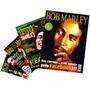 Lote Bob Marley = 4 Revistas Pôster 52x81cm Kit C/ Desconto!