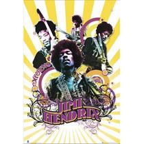 Poster (61 X 91 Cm) Jimi Hendrix - Collage