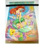Posters Antigos Disney Desenho Filme Aladim, Bela Fera Ariel
