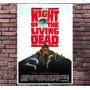 Poster Exclusivo Filme Mortos Vivos Romero Terror 30x42cm