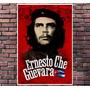 Poster Exclusivo Che Guevara Retro Vintage - Tamanho 30x42cm