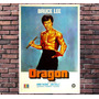 Poster Exclusivo Bruce Lee Kung Fu Luta Marcial - 30x42cm