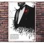 Poster Exclusivo Filme Poderoso Chefão The Godfather 30x42cm