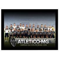 Poster Emoldurado Atlético Mineiro - Copa Do Brasil 2014