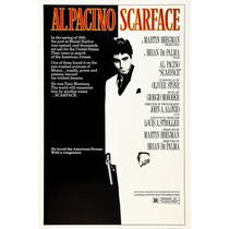 Scarface - Tony Montana Poster Em Lona 60x90cm - Modelo 1
