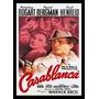 Quadro Poster Cinema Filme Casablanca 0142 C/ Moldura