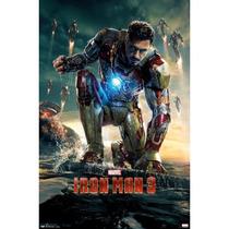 Poster Iron Man 3 / 2013 60x90 Cm Homem De Ferro Importado
