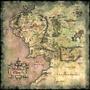 Poster Mapa Gigante Terra Media 90cmx90cm Decoração Quarto