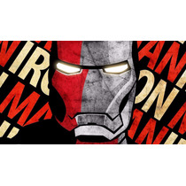 Pôster Homem De Ferro - Lona 90x50cm