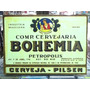 Cerveja Bohemia Lindo Quadro Poster Madeira