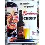 Brahma Chopp Cerveja Lindo Quadro Poster Madeira