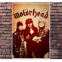 Poster Exclusivo Motorhead Rock Lemmy Tamanho 30x42cm