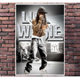 Poster Exclusivo Lil Wayne Rap Rapper Hip Hop - 30x42cm