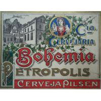 Poster De Rótulo Original De Cerveja Antiga Década De 20